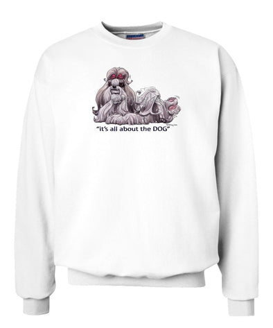 Shih Tzu - All About The Dog - Sweatshirt