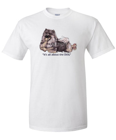 Keeshond - All About The Dog - T-Shirt
