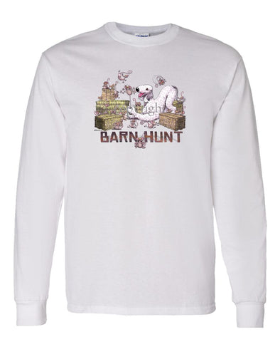 Bedlington Terrier - Barnhunt - Long Sleeve T-Shirt