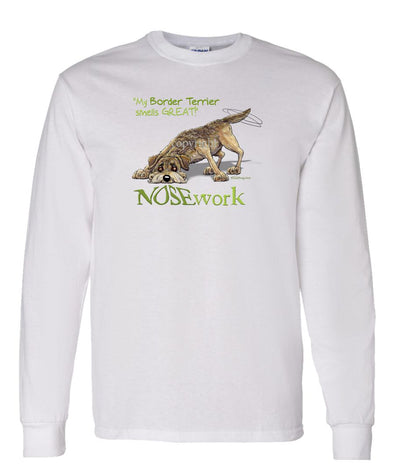 Border Terrier - Nosework - Long Sleeve T-Shirt