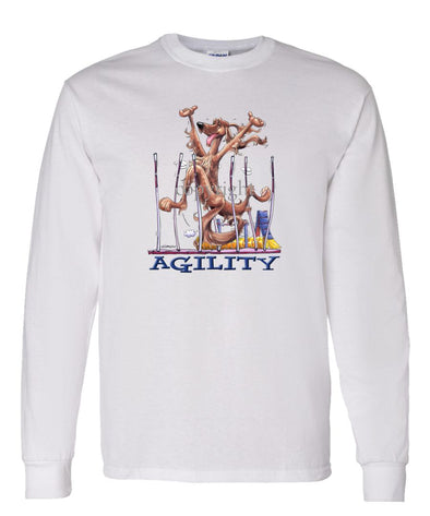 Irish Setter - Agility Weave II - Long Sleeve T-Shirt