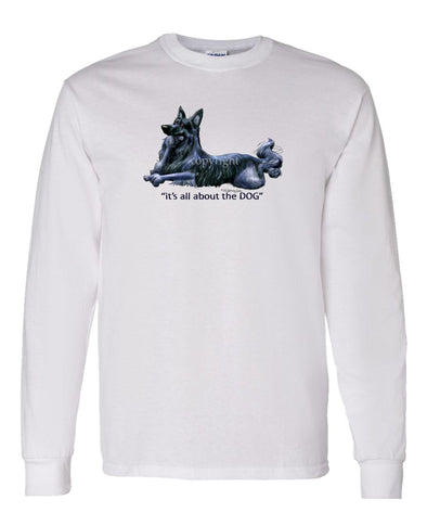 Belgian Sheepdog - All About The Dog - Long Sleeve T-Shirt