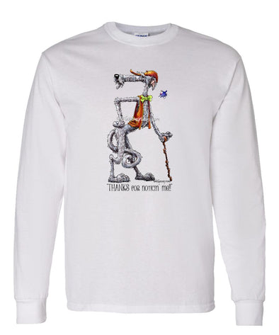 Scottish Deerhound - Noticing Me - Mike's Faves - Long Sleeve T-Shirt