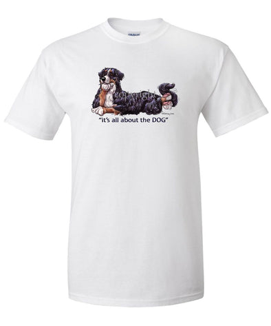 Bernese Mountain Dog - All About The Dog - T-Shirt
