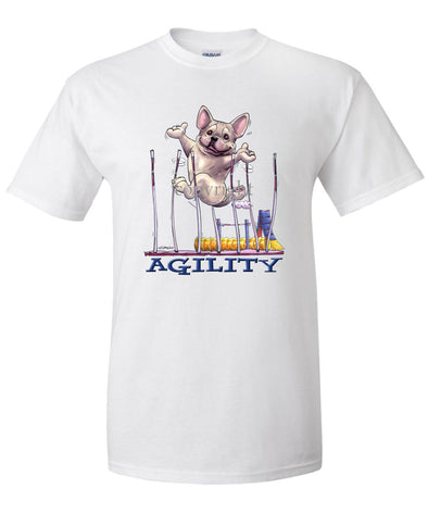 French Bulldog - Agility Weave II - T-Shirt