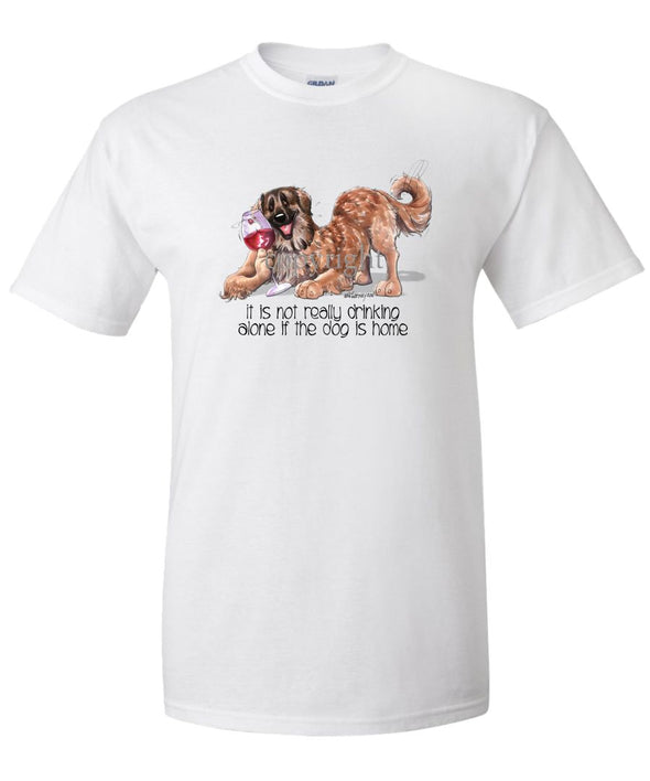 Leonberger - It's Not Drinking Alone - T-Shirt