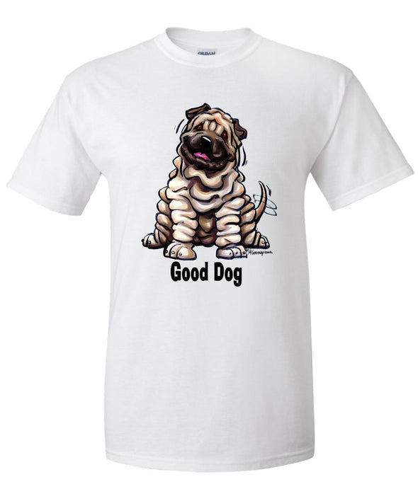 Shar Pei - Good Dog - T-Shirt