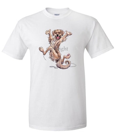 Golden Retriever - Happy Dog - T-Shirt