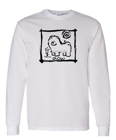 Chow Chow - Cavern Canine - Long Sleeve T-Shirt