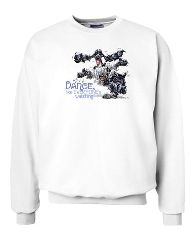 English Cocker Spaniel - Dance Like Everyones Watching - Sweatshirt