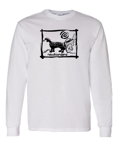 Newfoundland - Cavern Canine - Long Sleeve T-Shirt