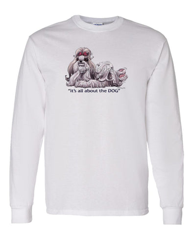 Shih Tzu - All About The Dog - Long Sleeve T-Shirt