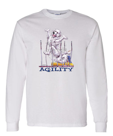 Great Pyrenees - Agility Weave II - Long Sleeve T-Shirt