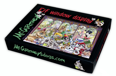 Elf Window Display - Puzzle