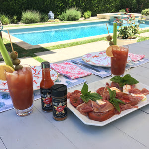 Poolside with an A-List Bloody Mary