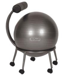 fit ball chair review body aline