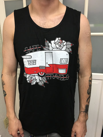 Safe Travels Mens Tank Top