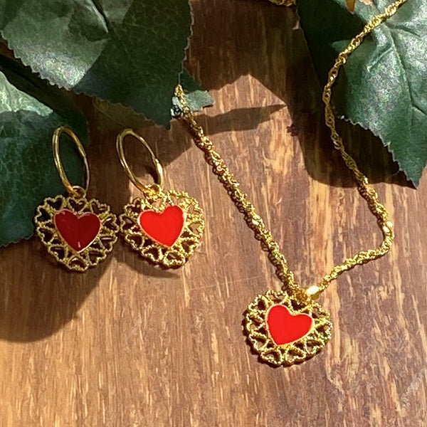 Red Hearts Set