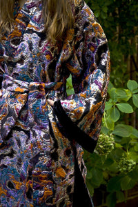 Cosmic Boogie  Double-Breasted Unisex Caftan - Oha