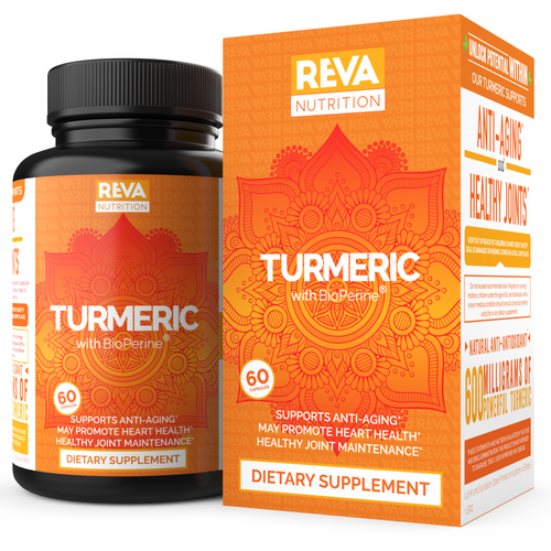 Premium Turmeric Curcumin 95% with Bioperine, Healthy Joint Pain Relief