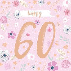 60th Floral Birthday