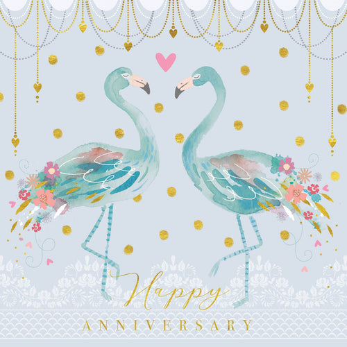 Anniversary Flamingoes