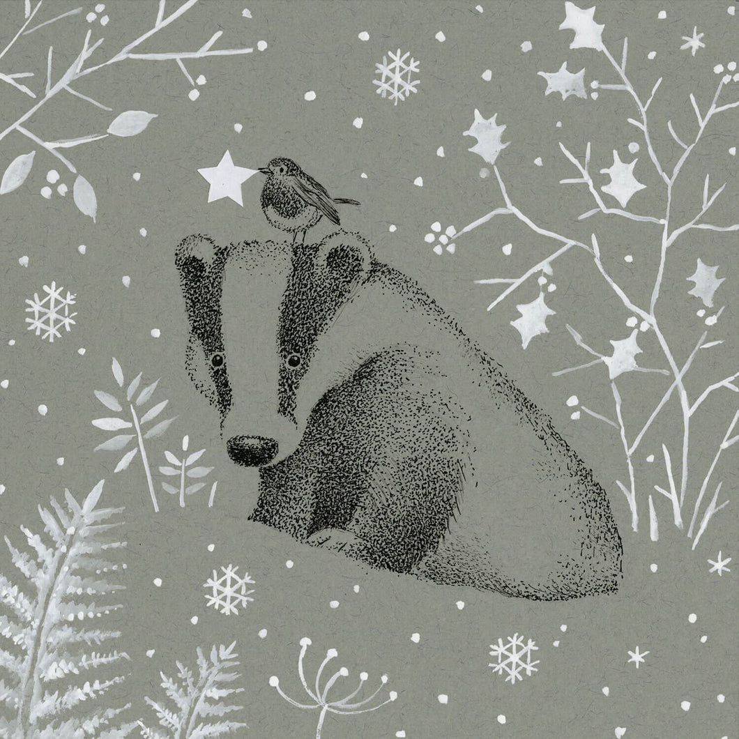 Badger Winter Wonderland