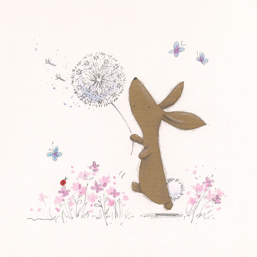 Dandelions Bella Rabbit