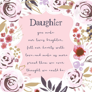 Daughter Birthday Verse
