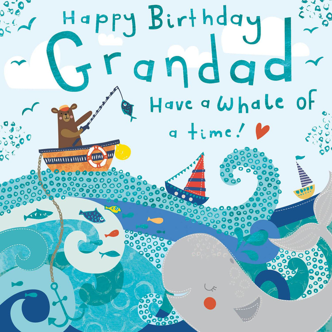 Grandad Have A Whale Of A Time