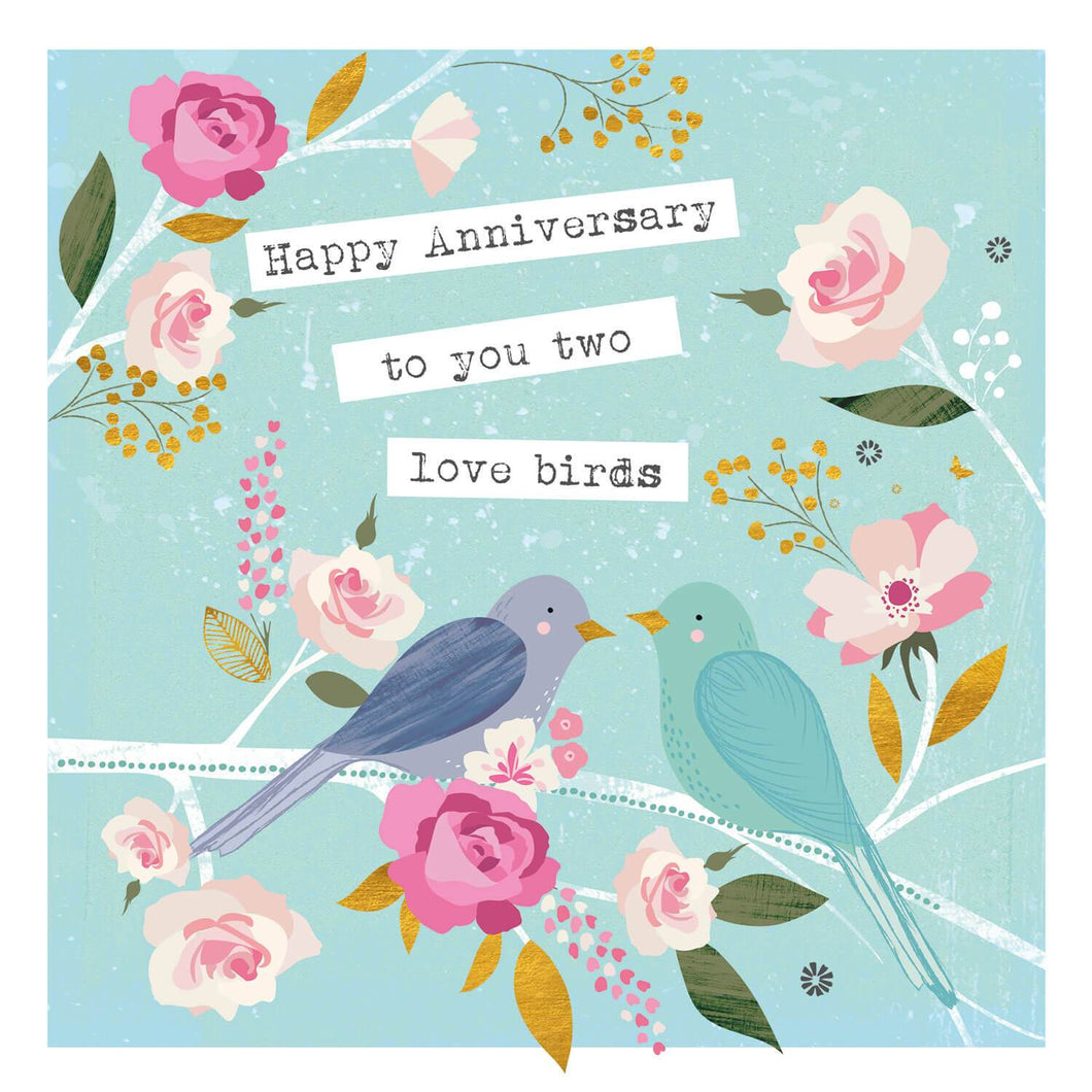 Happy Anniversary Birds