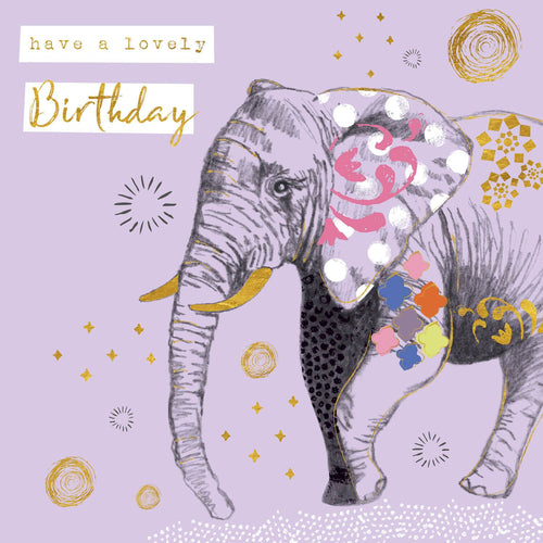 Elephant Lovely Birthday