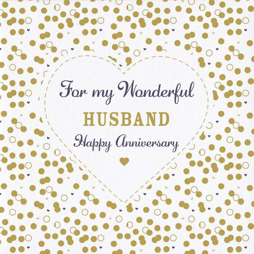Wonderful Husband Anniversary