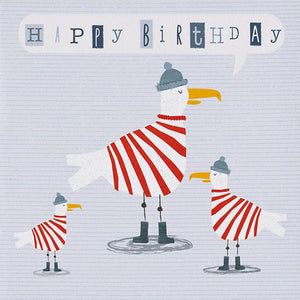 Seagull Happy Birthday