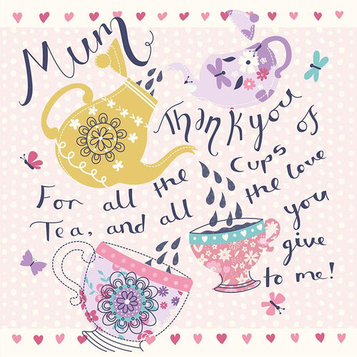 Cups of Tea Mother's Day