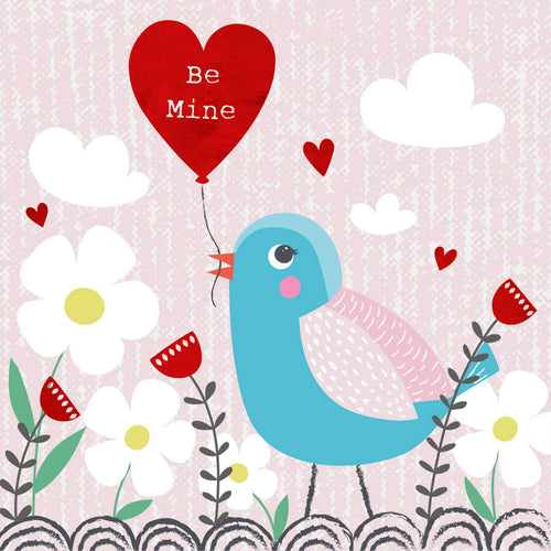 Be Mine Valentines Bird