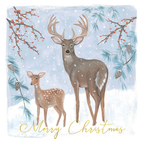 Stag and Fawn Christmas