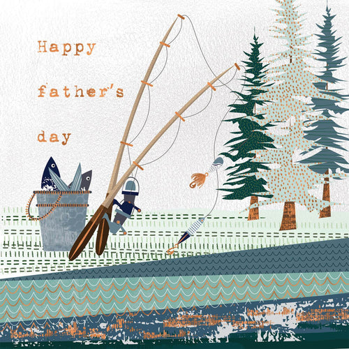 Happy Father's Day Fishing