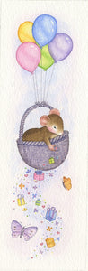Mouse Birthday Balloons With Basket