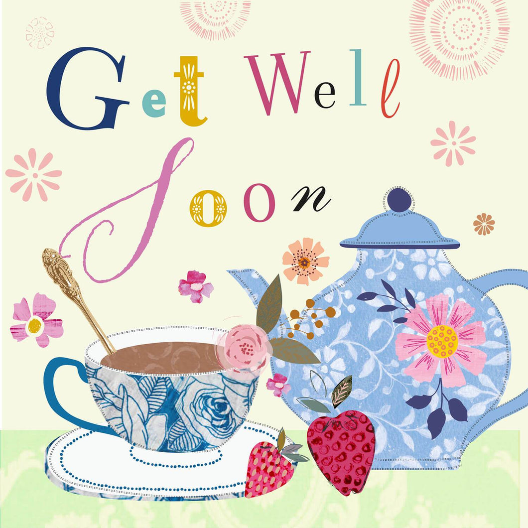 Tea Cups Get Well Soon
