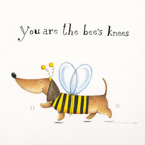 You're The Bees Knees Sausage Dog