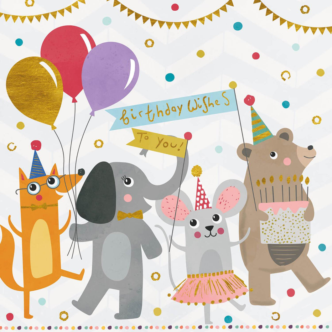Animals Childrens Birthday