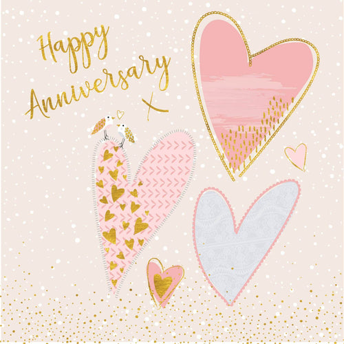 Happy Anniversary Hearts