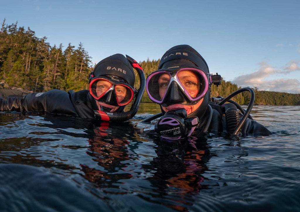 Discover a Passion for Cold Water Diving