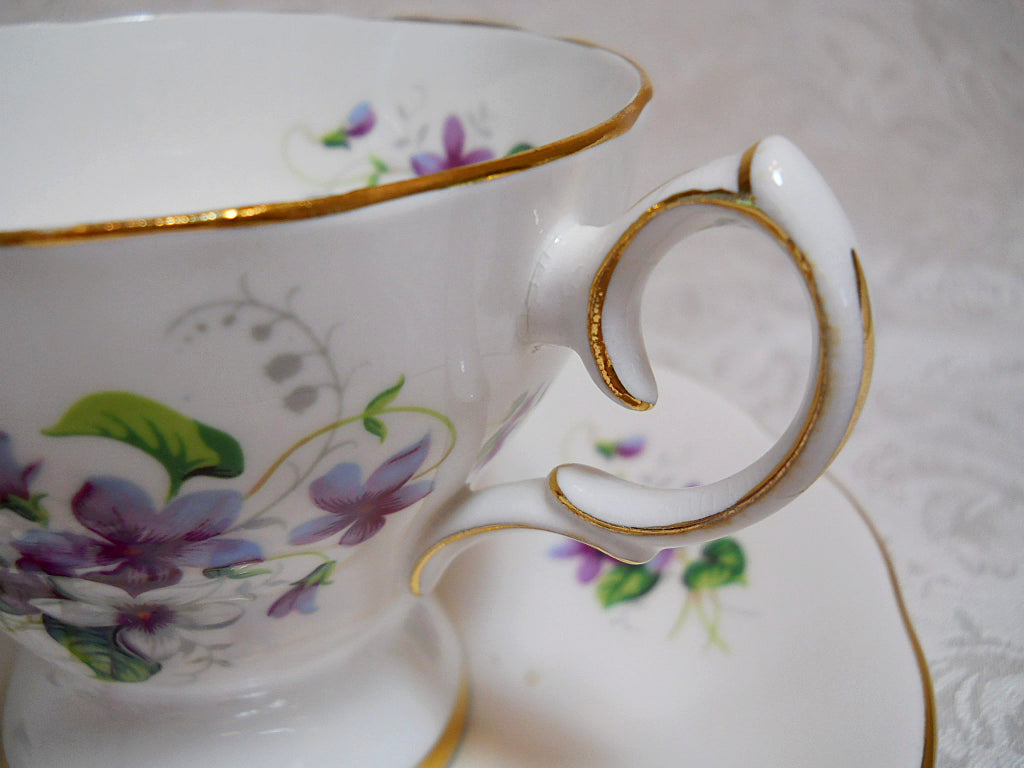 Schmid Queen Anne Bone China Musical Happy Birthday Floral Teacup Sa Bincheys