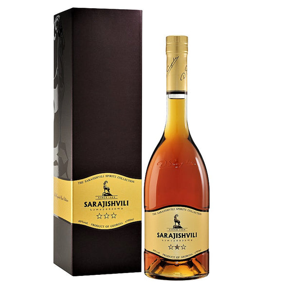 3 Year Old SARAJISHVILI Brandy 700mL - TAMADA