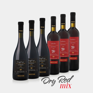 DRY RED MIX (Case of 6) - TAMADA