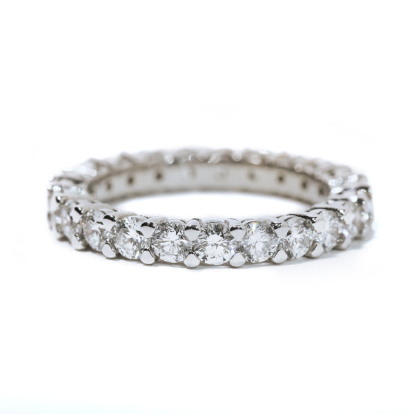 Fenom Diamond Eternity Ring 7pt - Fenom & Co.