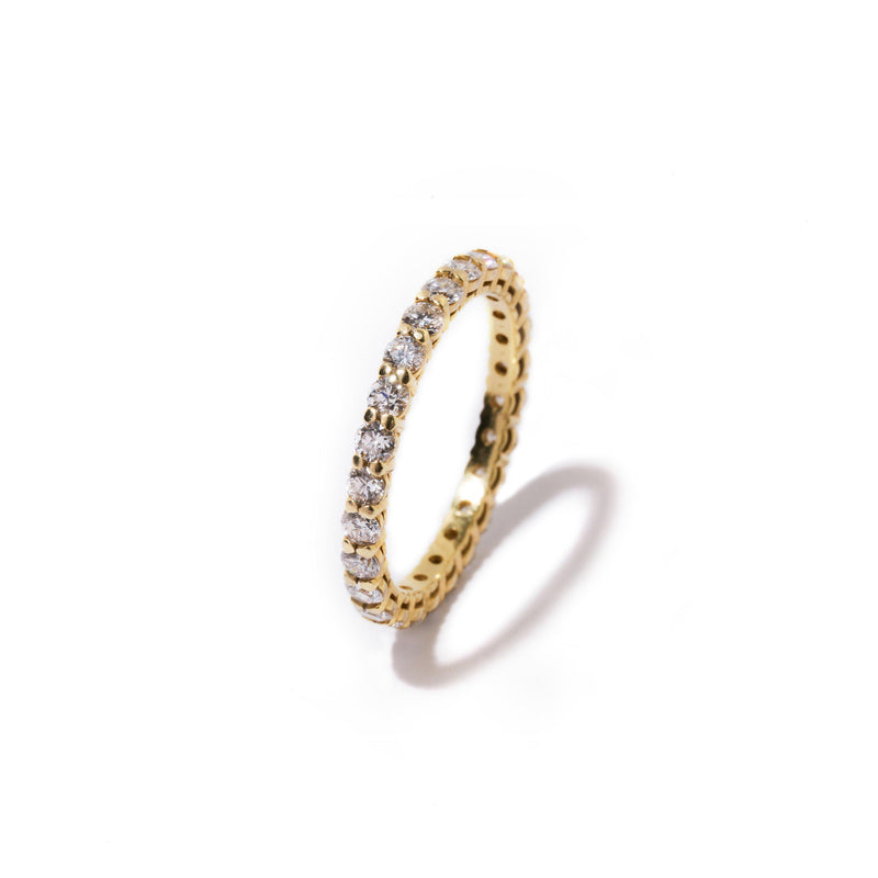 Fenom Diamond Eternity Ring 5pt - Fenom & Co.