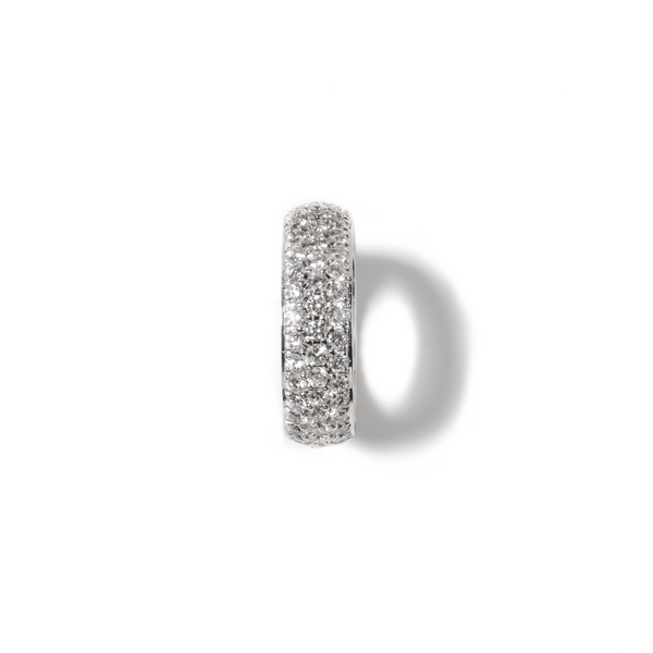 Fenom 3-Row Diamond Dome Ring - Fenom & Co.